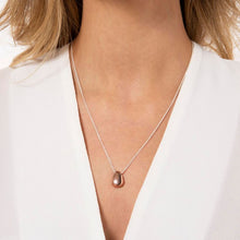Joma Jewellery Pretty Pebbles Pendant Necklace - Rose Gold
