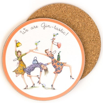Berni Parker Coaster - We are Gintastic