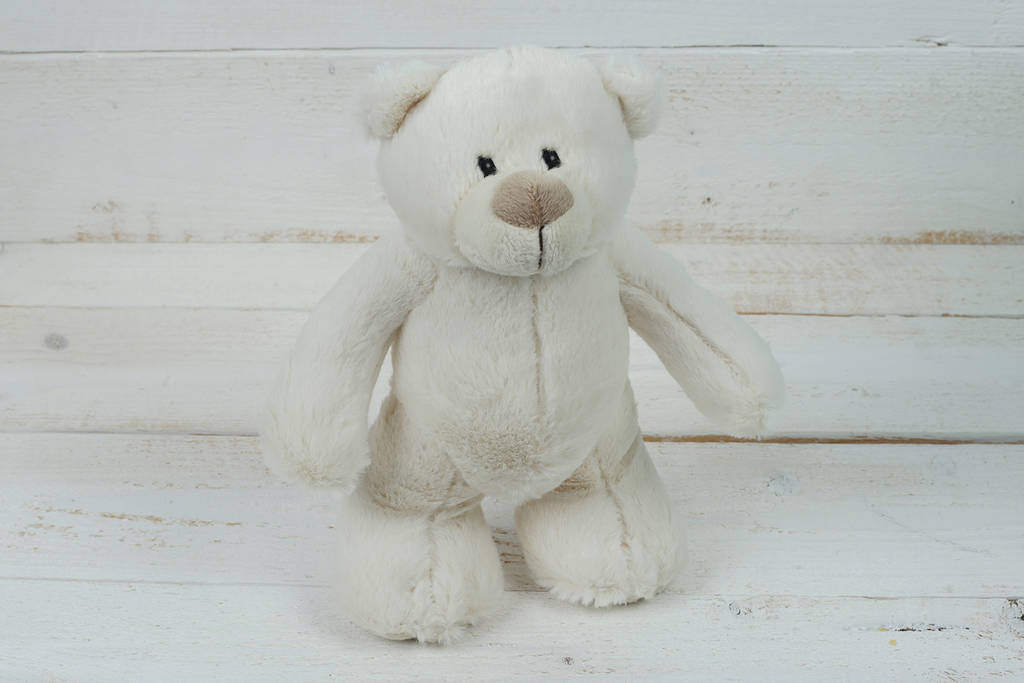 Jomanda Soft Cream Standing Teddy Bear