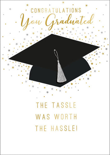 The Art File -Graduation Tassel Worth the Hassle Card