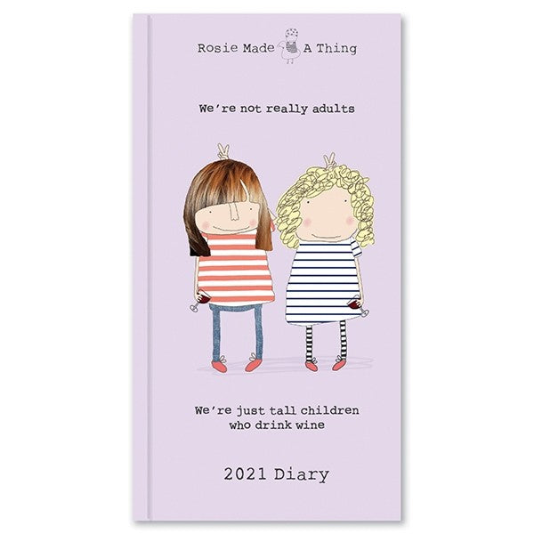 Rosie Made A Thing Slim Diary 2021