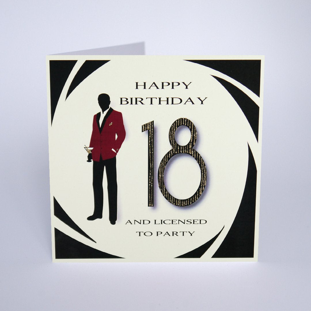 Five Dollar Shake Licensed to Party 18th Birthday Card