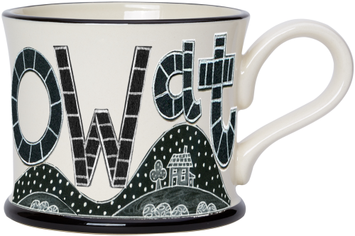 Moorland Pottery Ow at Mug
