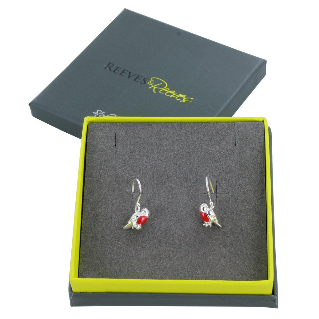 Reeves & Reeves Robin Earrings - Silver