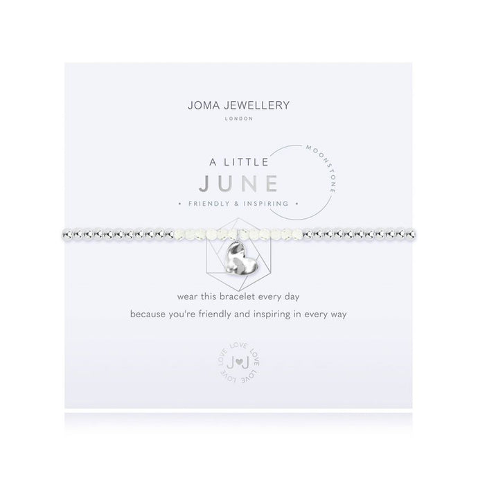 Joma Jewellery A little Birthstone June Moonstone Bracelet