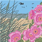 The Art File -Sand Dunes - Nature Trail Collection by Kate Heiss Blank Card