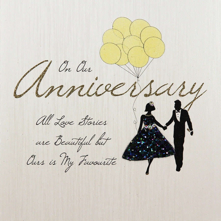 Five Dollar Shake Our Anniversary Love Stories Card
