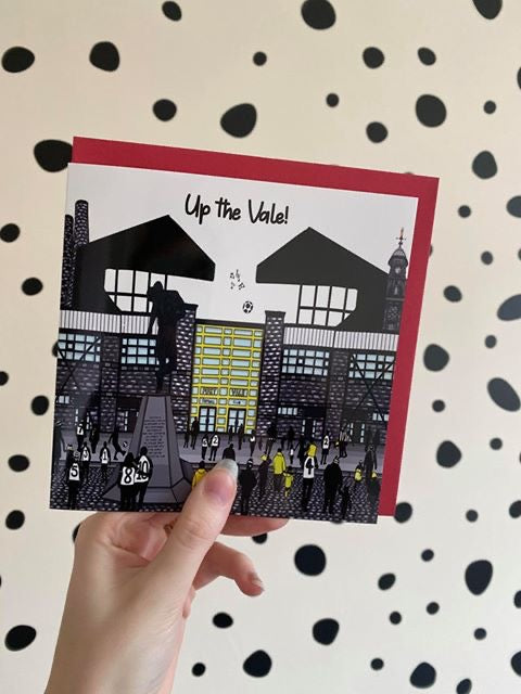 Megan Rose Design Port Vale Card