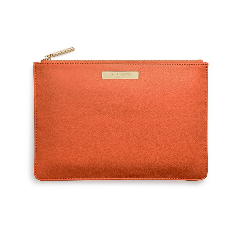 Katie Loxton Pebble Pouch - Burnt Orange