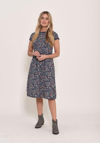Brakeburn Ditsy Jersey Dress