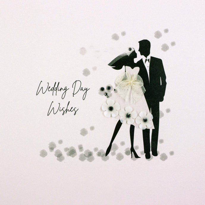 Five Dollar Shake Wedding Day Wishes Card