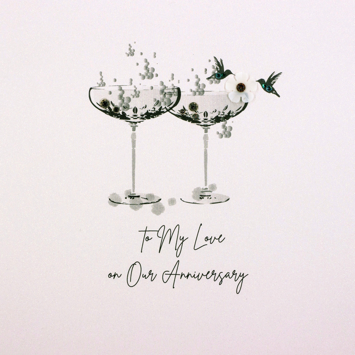 Five Dollar Shake To my Love on Our Anniversary Card