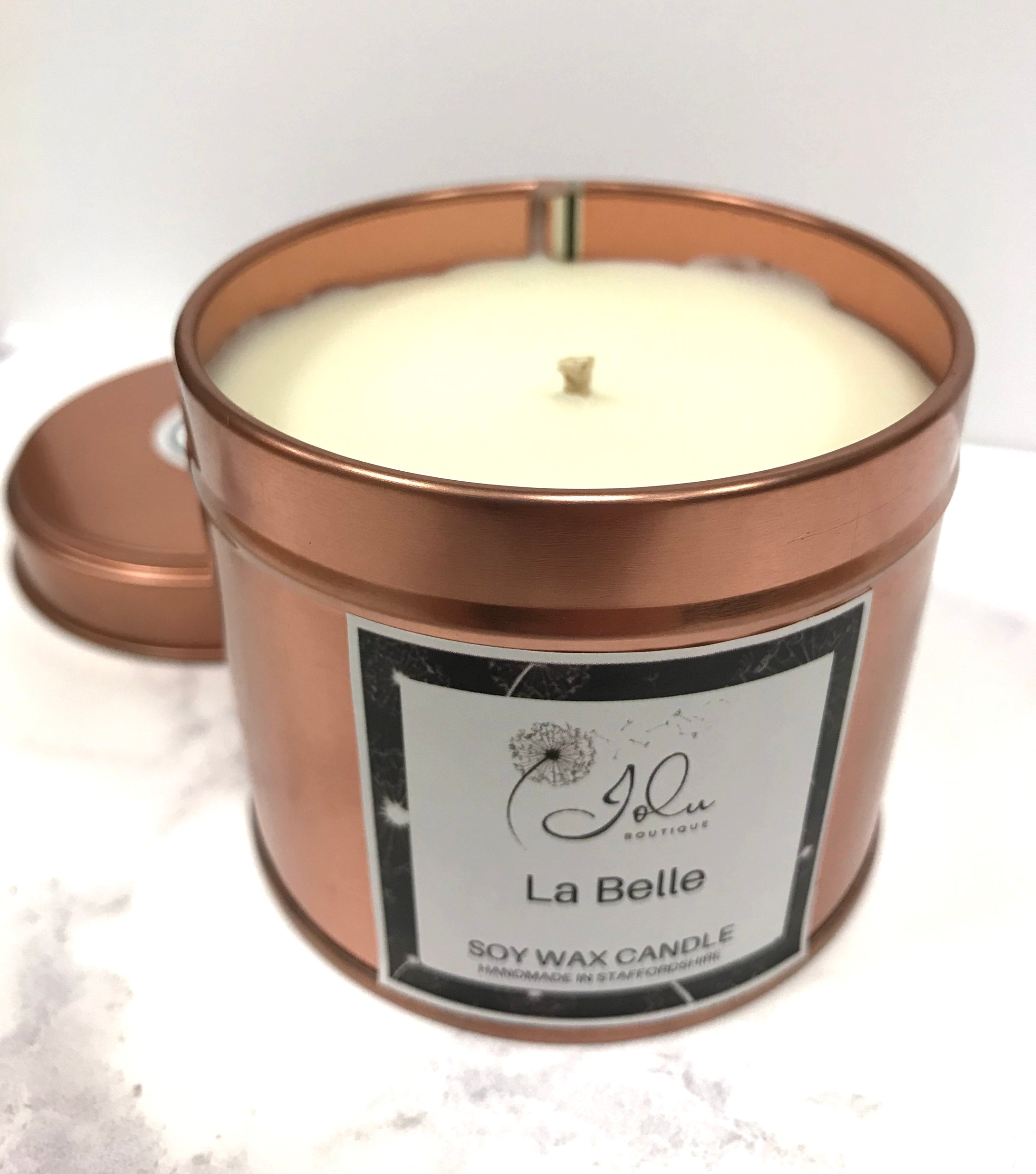Jolu Boutique La Belle Tinned Soy Wax Candle