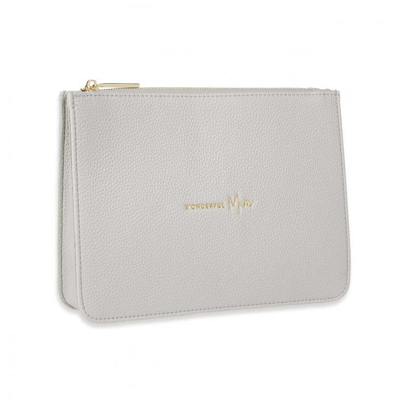 Katie Loxton Stylish Structured Pouch Wonderful Mum - Stone
