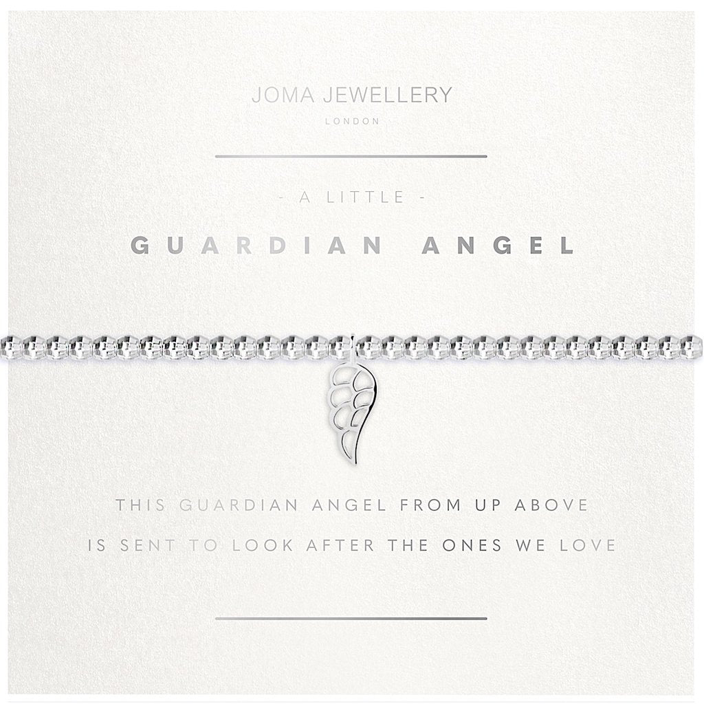 Joma Jewellery Facetted A Little Guardian Angel Bracelet