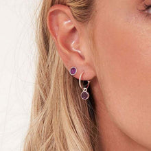 Joma Jewellery Signature Stones Earring Set - Amethyst