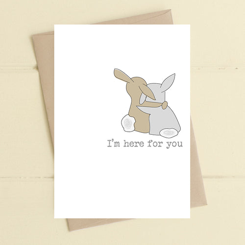Dandelion Stationery - I'm here for You Blank Card