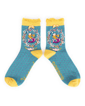 Powder Alphabet Socks - Letter S