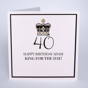 Personalised Birthday Card (PCAB34) Five Dollar Shake