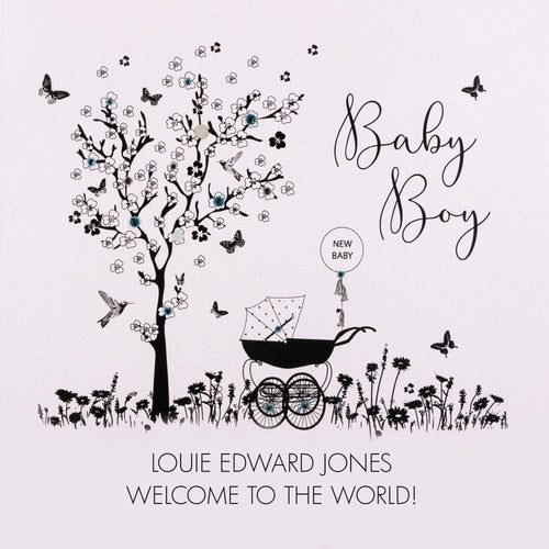 Personalised Baby Card (PCBB6) Five Dollar Shake
