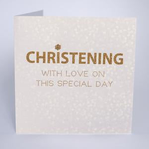 Five Dollar Shake Christening Day Card