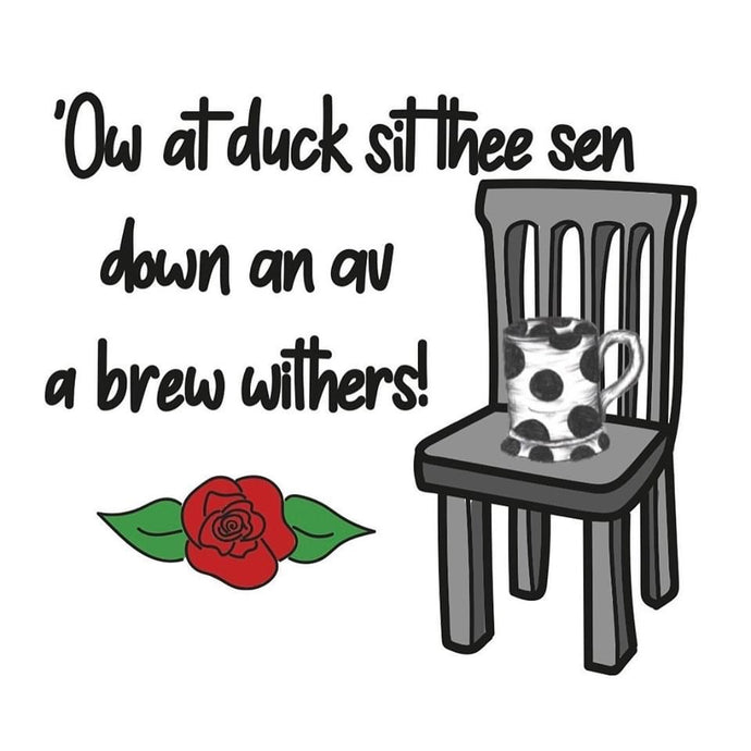 Megan Rose Design Av a Brew Withers Stokie Sayings Coaster
