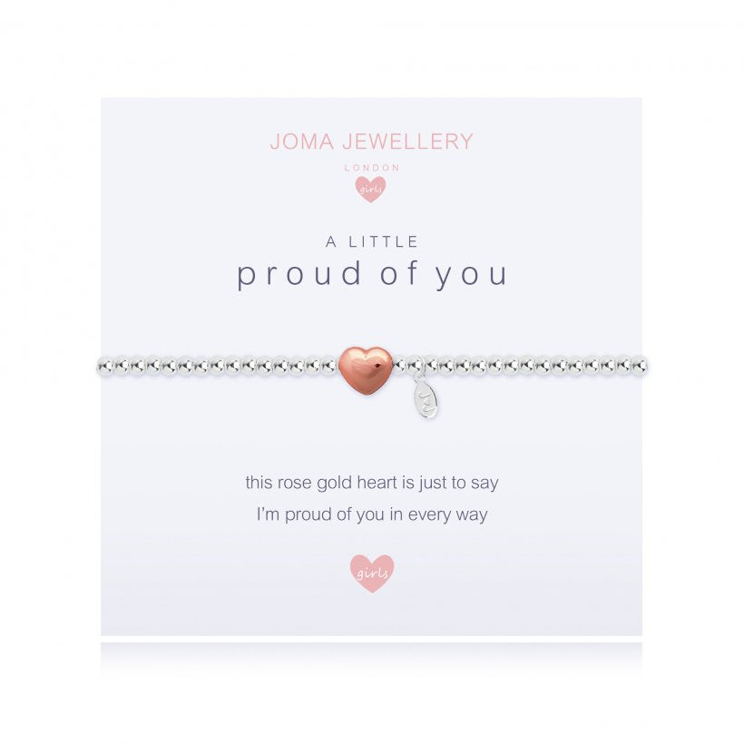 Joma Jewellery Girls A Little Proud of You Bracelet