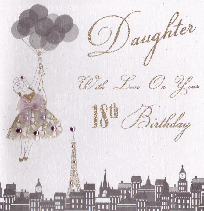 Five Dollar Shake With Love Daughter 18th Birthday Card