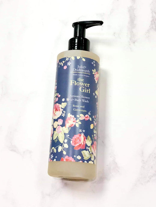 Julie Dodsworth The Flower Girl Artisan Shower & Bath Wash
