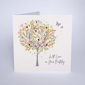 Five Dollar Shake With love on your Birthday Tree Card