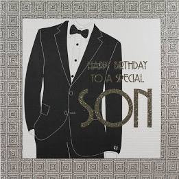 Five Dollar Shake LARGE Special Son Birthday Card