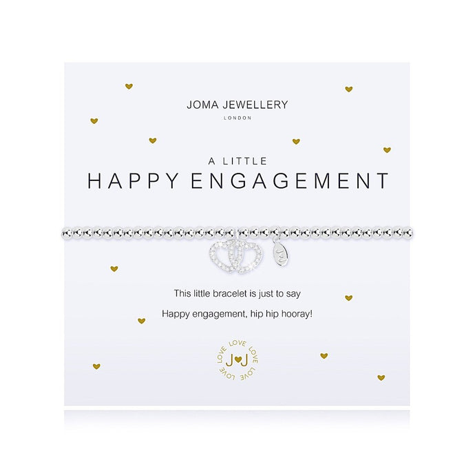 Joma Jewellery A little Happy Engagement Bracelet
