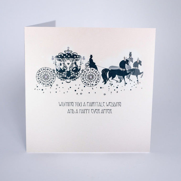 Five Dollar Shake Wishing you a Fairytale Wedding Card