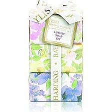 Bayliss & Harding Royale Bouquet Soaps - Set of 3 Gift Set
