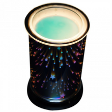 Cello 3D Holographic Electric Melt Burner - Galaxy