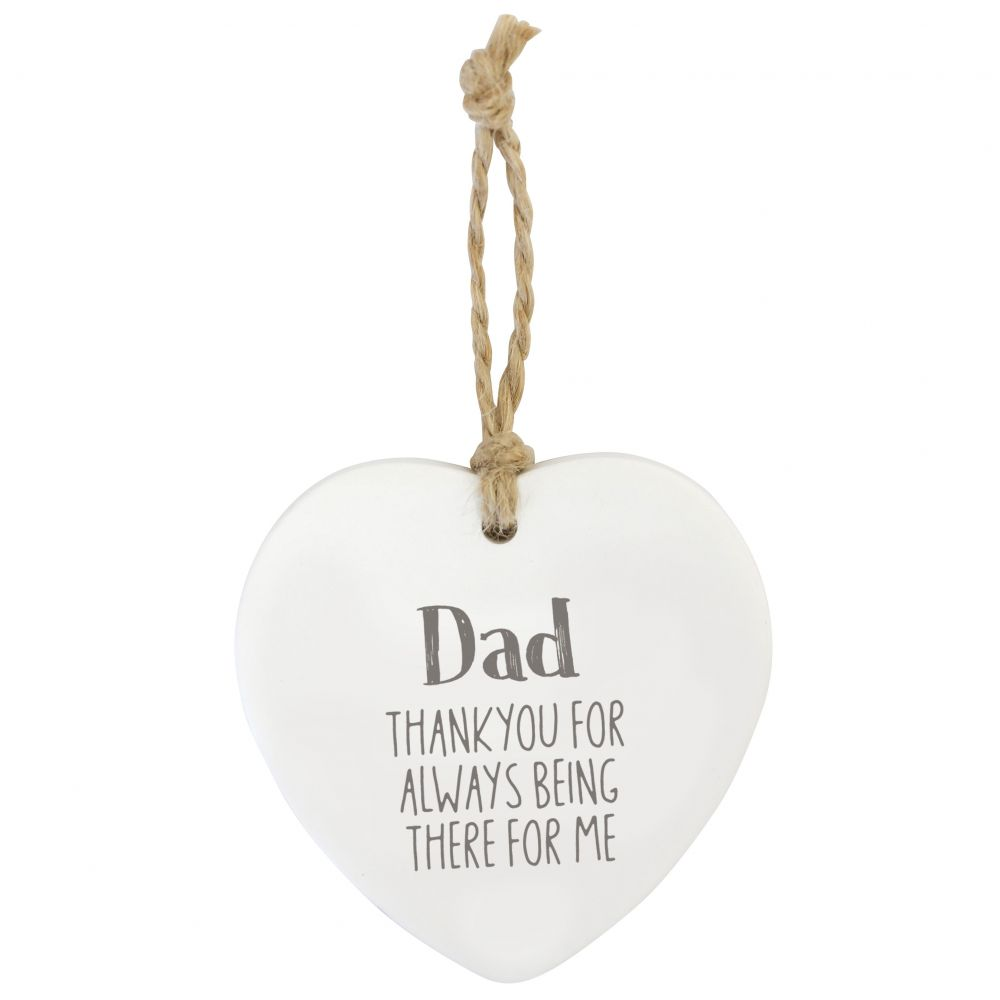 Splosh Loving Hanging Heart - Dad