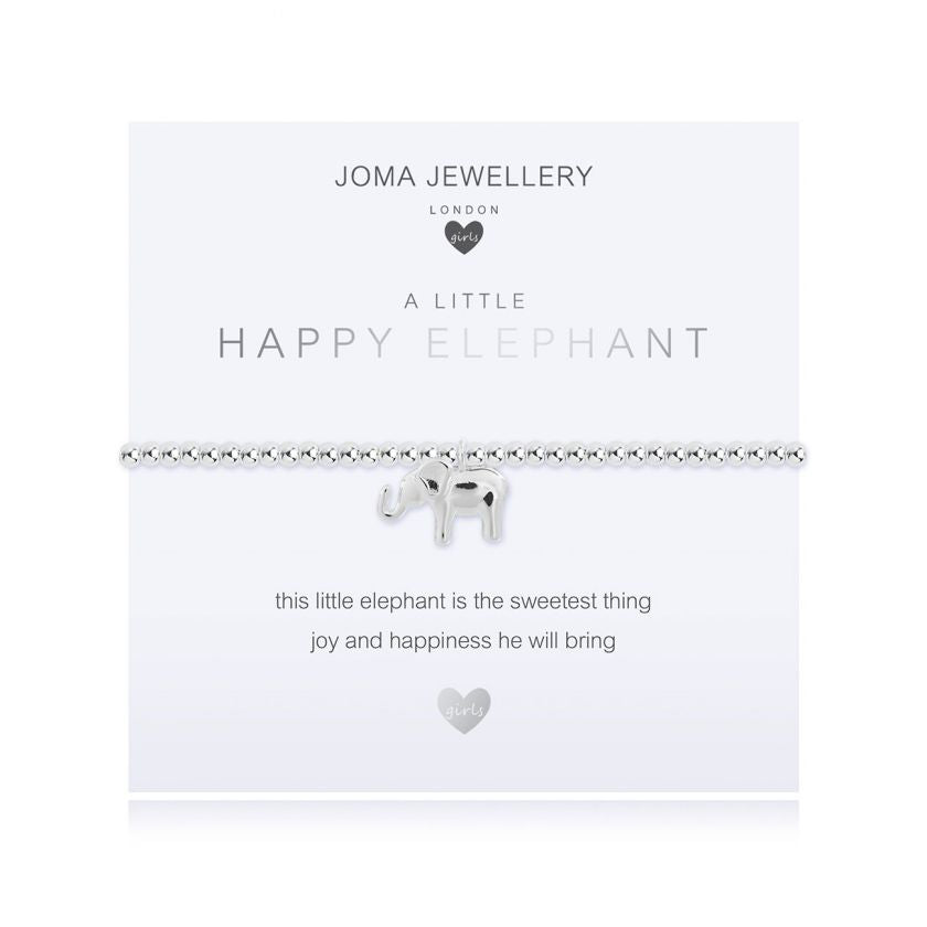 Joma Jewellery Girls A Little Happy Elephant Bracelet