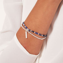 Joma Jewellery Signature Stones Friendship Bracelet - Blue Lace Agate