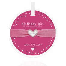Joma Jewellery Girls Birthday Girl Hair Tie