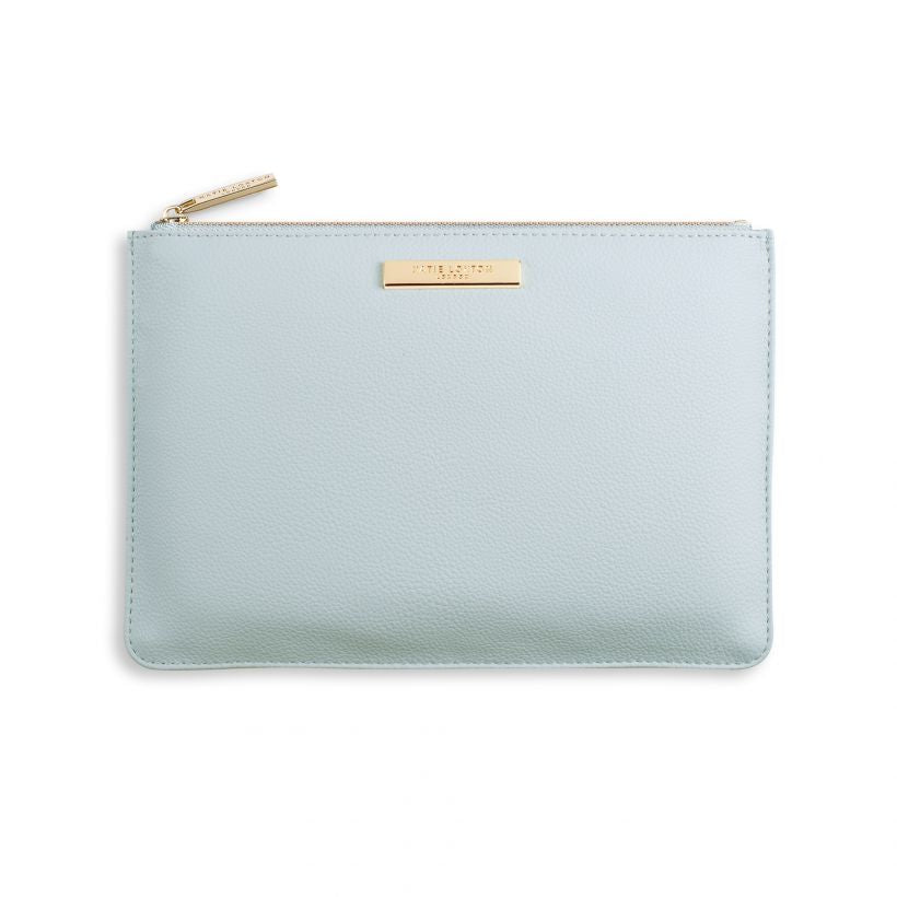 Katie Loxton Pebble Pouch - Pale Blue