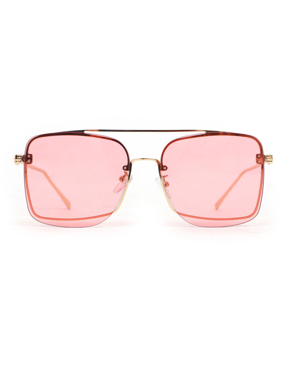 Powder Quinn Sunglasses - Pink