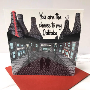 Megan Rose Design You're the Cheese to my Oatcake Card