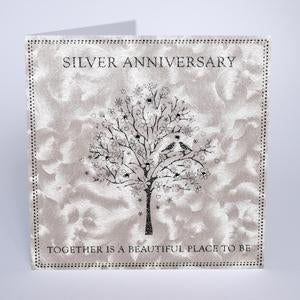 Five Dollar Shake Together is a Beautiful Place to Be - Silver Anniversary Card