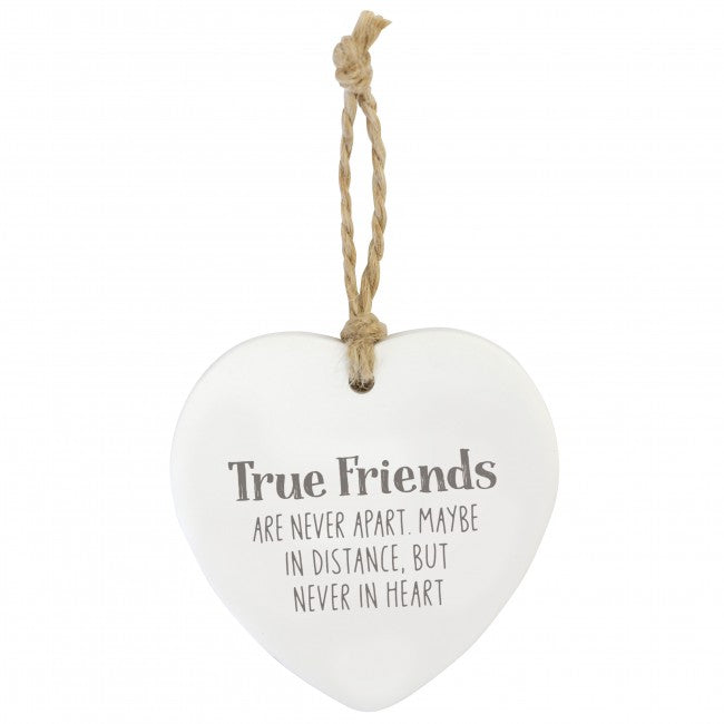 Splosh Loving Hanging Heart - True Friends