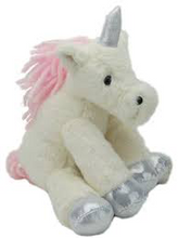 Jomanda Magical Sitting Unicorn Soft Toy