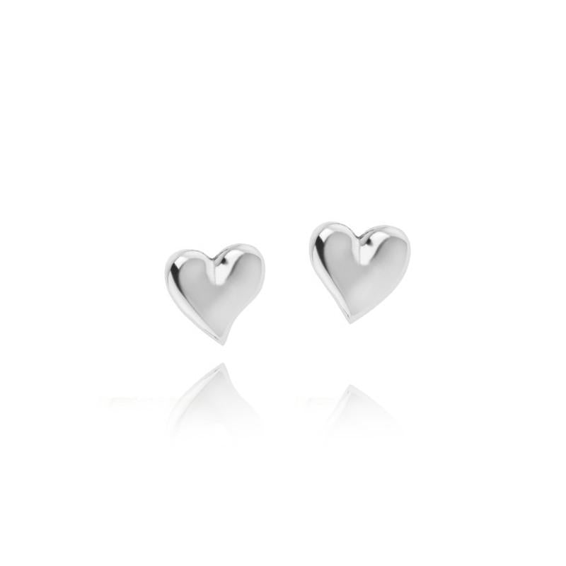 Joma Jewellery Mila Heart Stud Earrings