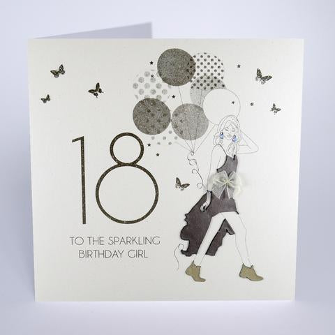 Five Dollar Shake LARGE 18th Birthday Girl Card