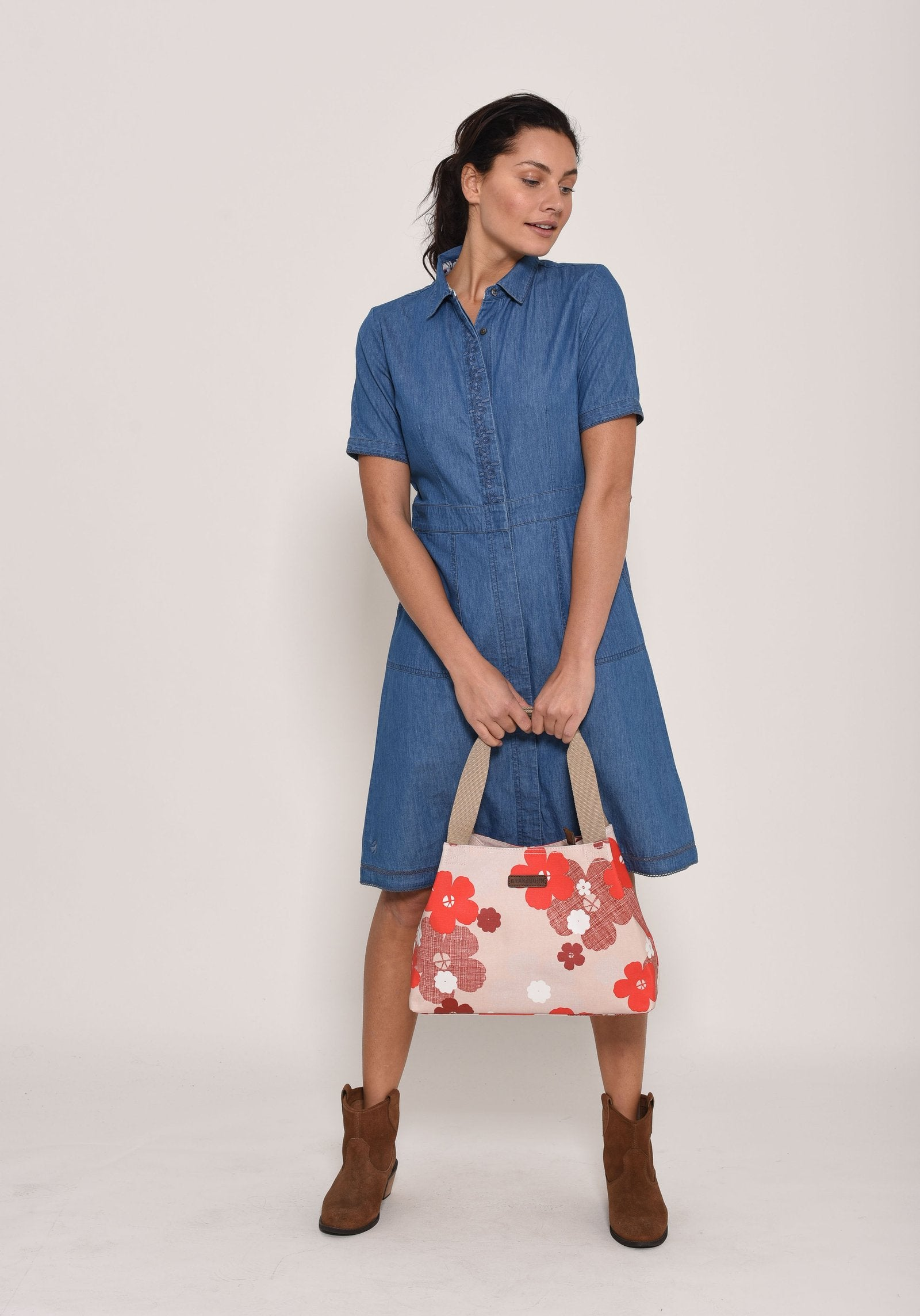 Brakeburn Denim Work Dress