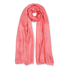 Katie Loxton Wrapped Up in Love Boxed Scarf - Coral