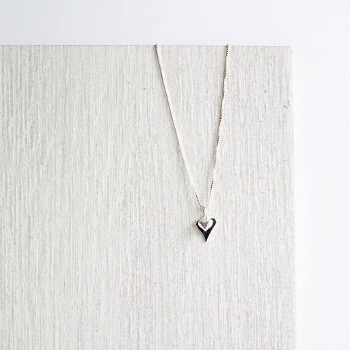 Jolu Jewellery Olivia Double Heart Pendant